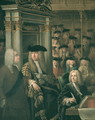 The House of Commons in 1730 - Sir James Thornhill