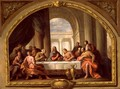 Sketch for The Last Supper, St. Marys, Weymouth, formerly attributed to Antonio Verrio c.1639-1707 c.1719-20 - Sir James Thornhill