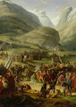 The French Army Travelling over the St. Bernard Pass at Bourg St. Pierre, 20th May 1800, 1806 - Charles Thevenin