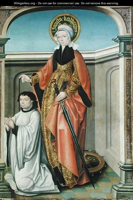St. Catherine of Alexandria - Kappenberg The Master of
