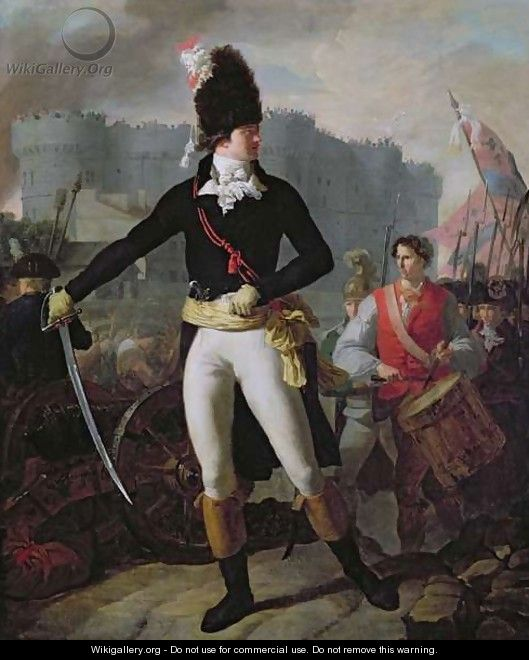 A Winner of the Bastille, 14th July 1789 - Charles Thevenin