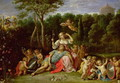 The Garden of Armida - David The Younger Teniers