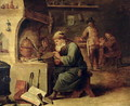 An Alchemist - David The Younger Teniers