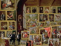The Picture Gallery of Archduke Leopold Wilhelm 1614-62 in Brussels - David The Younger Teniers