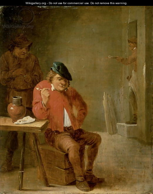 The Smoker - David The Younger Teniers