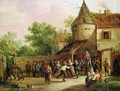 The Village Fete - David The Younger Teniers