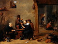 The Card Players - David The Younger Teniers