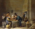 The Trick Track Players - David The Younger Teniers