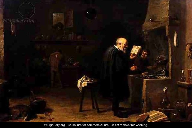 The Alchemist 2 - David The Younger Teniers