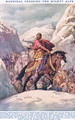 Hannibal Crossing the Mighty Alps, illustration from Newnes Pictorial Book of Knowledge - Dudley C. Tennant