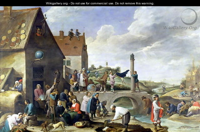 The Proverbs - David The Younger Teniers