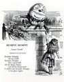 Humpty Dumpty, illustration for the nursery rhyme by Lewis Carroll 1832-98 - John Tenniel