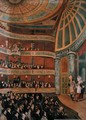 Interior of The Park Theatre, New York City, 1822 - John Searle
