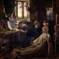 The Death of the Venerable Bede c.638-735 in Jarrow Priory, c.1861 - William Bell Scott