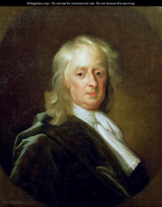 Portrait of Sir Isaac Newton 1646-1727 1726 - Enoch Seeman