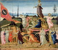 Triumph of Chastity, inspired by Triumphs by Petrarch 1304-74 - Jacopo Del Sellaio