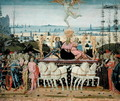 Triumph of Love, inspired by Triumphs by Petrarch 1304-74 - Jacopo Del Sellaio