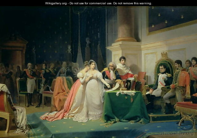 The Divorce of Empress Josephine, 15th December 1809, 1846 - Frederic Henri Schopin