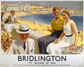 Bridlington, Its Quicker by Rail, poster advertising the London and North Eastern Railway, 1938 - Septimus Edwin Scott