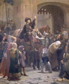 Joan of Arc 1412-31 Leaving Vaucouleurs, 23rd February 1429 - Jean-Jacques Scherrer