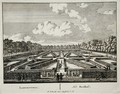Labyrinth, from Admirandorum Quadruplex Spectaculum, by Jan van Call 1656-1703, published before 1715 - Pieter Schenk