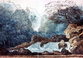 Waterfall in a Wood, set design for a production of Undine - Karl Friedrich Schinkel