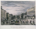 The Gymnase Dramatique theatre, Paris, 1832 - (after) Schmidt, Bernhard