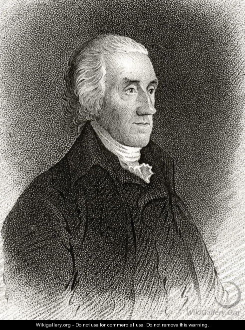 Robert Treat Paine, engraved by James Barton Longacre 1794-1869 - Edward Savage