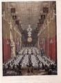 The Lord Mayors Dinner at the Guildhall, 9th November 1828 - George the Elder Scharf