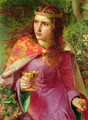 Queen Eleanor, 1858 - Anthony Frederick Sandys