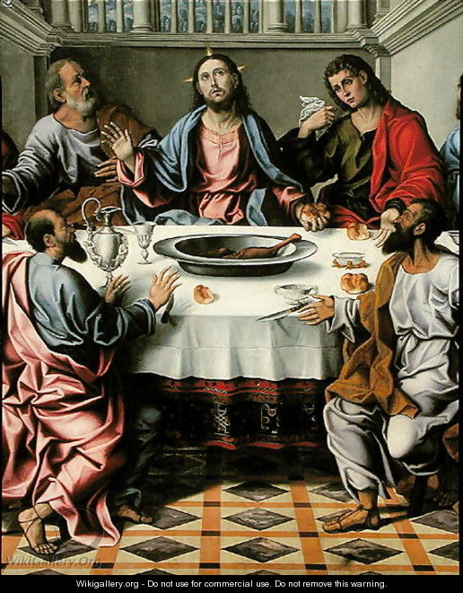 The Last Supper 2 - Girolamo da Santacroce