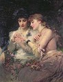 A Thorn Amidst Roses, c.1887 - James Sant