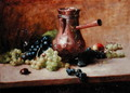 Still Life with Grapes, 1881 - Leon Daniel Saubes