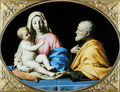 The Holy Family - Francesco de' Rossi (see Sassoferrato)