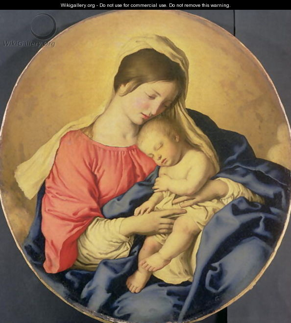 The Virgin and Child, c.1640-85 - Francesco de