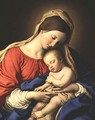 Madonna and Child 3 - Francesco de' Rossi (see Sassoferrato)