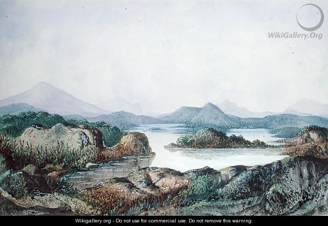 Landscape with a Lake - George (nee Dupin) Sand