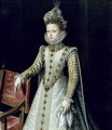 The Infanta Isabel Clara Eugenie 1566-1633 1579 - Alonso Sanchez Coello