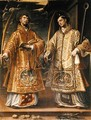 St. Lawrence and St. Stephen, 1580 - Alonso Sanchez Coello