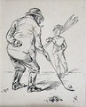 The Last Putt, illustration from Graphic magazine, pub. c.1870 - Henry Sandercock