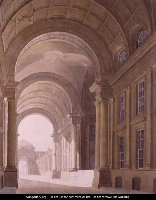 Bridge at Somerset House - Thomas Sandby