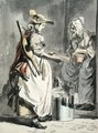 London Cries A Milkmaid, c.1759 - Paul Sandby