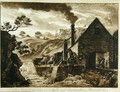 The Iron Forge near Dolgelli and Barmouth in Merionethshire, from Twelve Views in Wales, 1776 - Paul Sandby