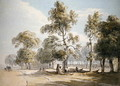 Powder Magazine, Hyde Park - Paul Sandby