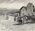 Mission Santa Ynez or Ines, Solvang, California, from the book The Century Illustrated Monthly Magazine, May to October, 1883 - Henry Sandham