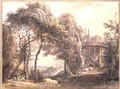 The Round Temple - Paul Sandby