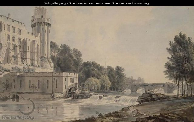 Caesars Tower, Warwick Castle - Paul Sandby