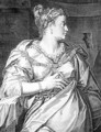 Petronia first wife of Vitellus - Aegidius Sadeler or Saedeler