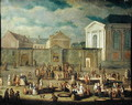 The Fish Market at Cambrai, 1778 - Gabriel Jacques de Saint-Anton