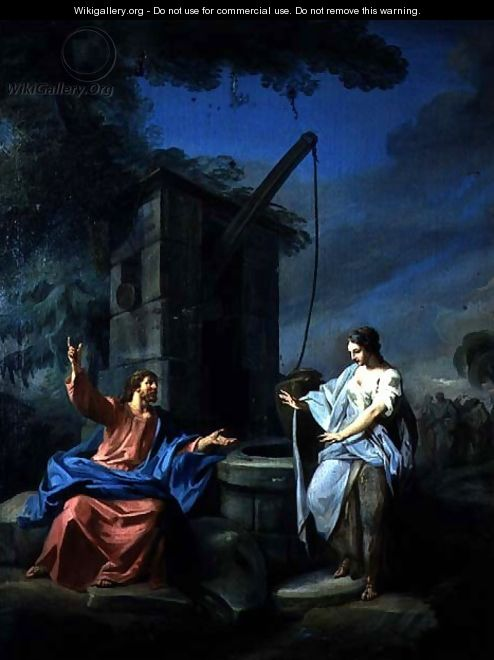 Christ and the Woman of Samaria at the Well, 1752 - Gabriel De Saint Aubin